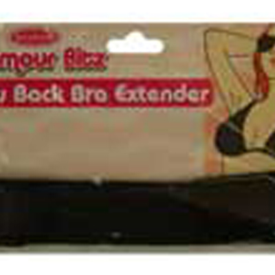 LOW BACK BRA EXTENDER BLACK