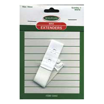 BRA EXTENDER 19MM WHITE