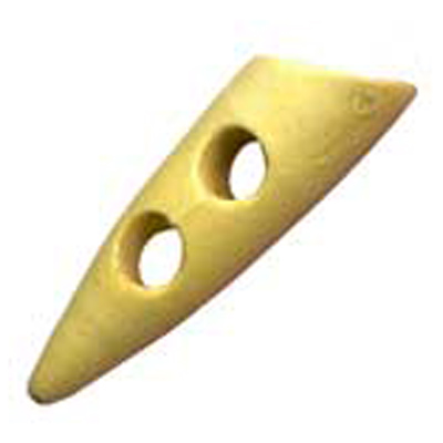 TOGGLE WOODEN 40MM 16 / $ 5.49 ea.