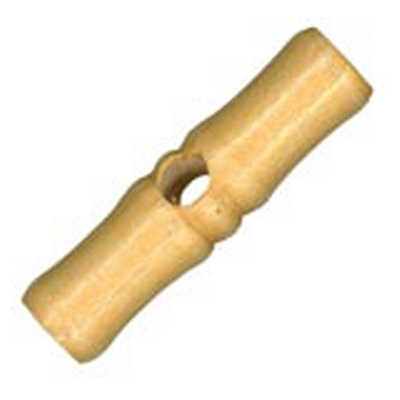 WOODEN TOGGLE TUBE 45MM 21 / $ 4.19 ea.