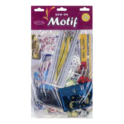 MOTIF PACK OF 20 ASSORTED H/SEL