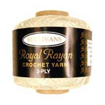 ROYAL RAYON CROCHET CREAM