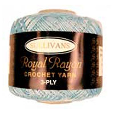 ROYAL RAYON CROCHET BLUE