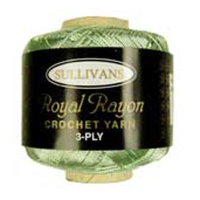 ROYAL RAYON CROCHET MINT