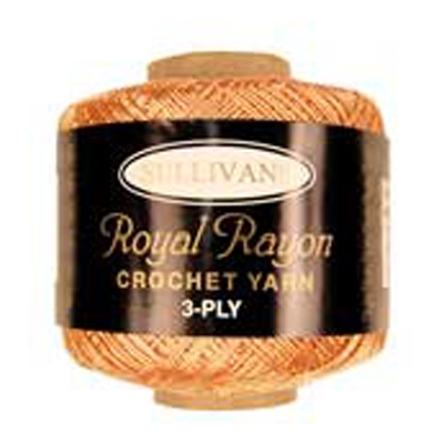 ROYAL RAYON CROCHET PEACH