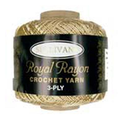 ROYAL RAYON CROCHET FR CREAM