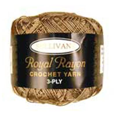 ROYAL RAYON CROCHET BEIGE