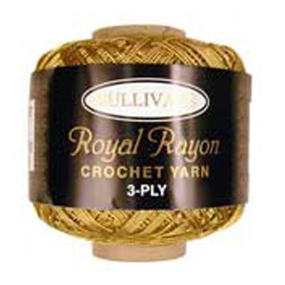 ROYAL RAYON CROCHET H GOLD