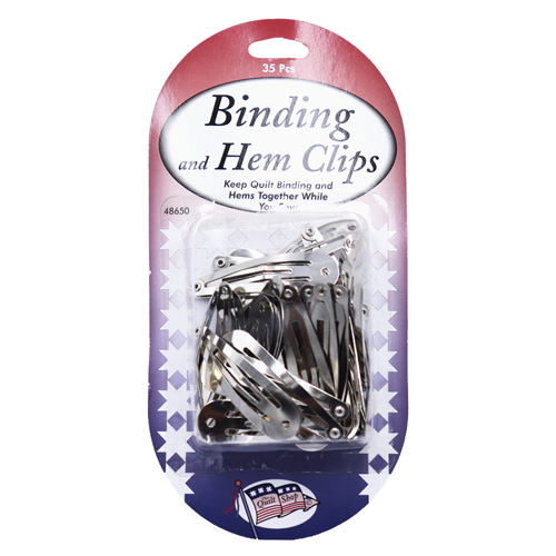 QUILTERS BINDING & HEM CLIPS