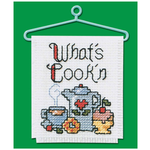 CROSS STITCH KIT WHATS COOK'N