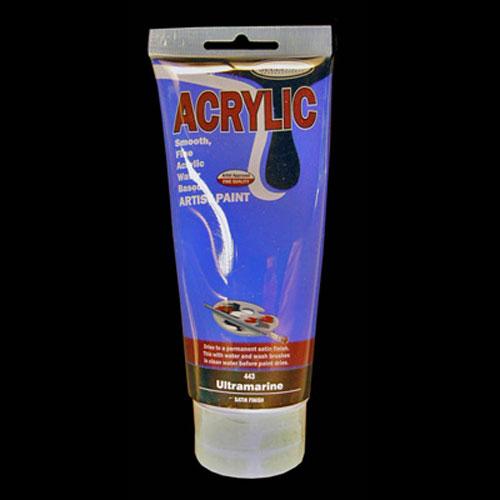 ACRYLIC PAINT 200ML UL/MARINE