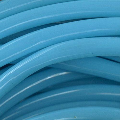 PLASTIC TUBING 2M SKY BLUE