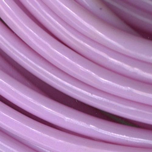 PLASTIC TUBING BULK PALE PINK