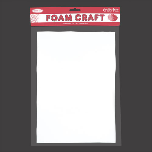 FOAM SHEET PK3 WHITE