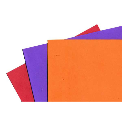 FOAM SHEET PK3 RED/PURPLE/ORANGE