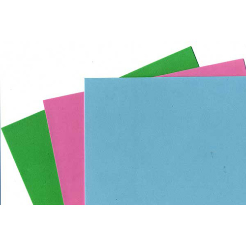 FOAM SHEET PK3 GREEN/AQUA/PINK