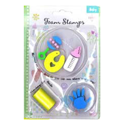 FOAM STAMPS-BABY 3PCS