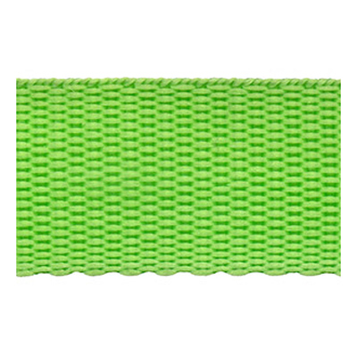 WEBBING 25MM FLUORO GREEN