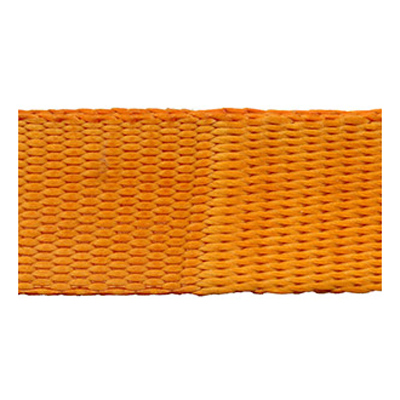 WEBBING POLYNET 906-25MM ORANGE