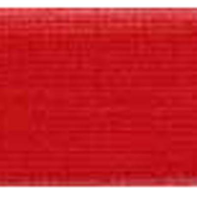 RIBBON KNIT NYLON 25MM RED