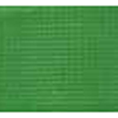 RIBBON KNIT NYLON 25MM GREEN