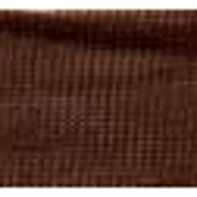 RIBBON KNIT NYLON 25MM BROWN
