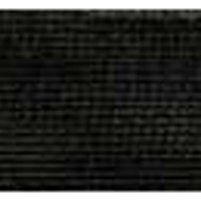RIBBON KNIT NYLON 25MM BLACK