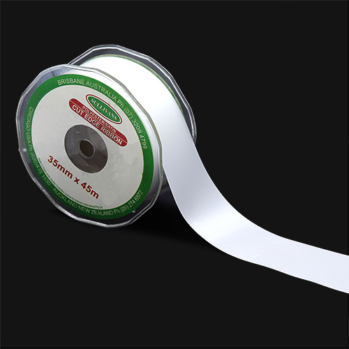 RIBBON CUT EDGE 35MM WHITE