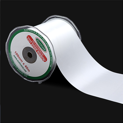 RIBBON CUT EDGE 100MM WHITE
