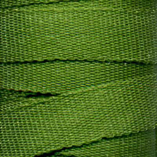 RIBBON SILK 4MM GREEN