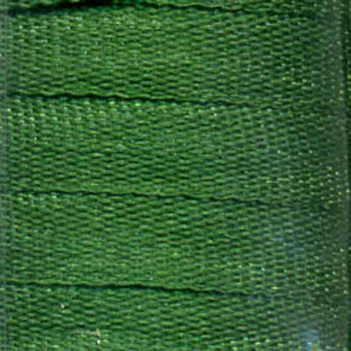 RIBBON SILK 4MM DARK EMERALD