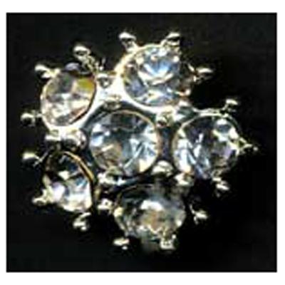 DIAMONTES BUTTON 15MM 10 / $ 12.99 ea.