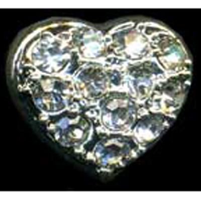 DIAMONTES BUTTON 13MM 10 / $ 12.99 ea.