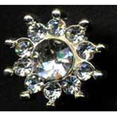 DIAMONTES BUTTON 14MM 10 / $ 12.99 ea.