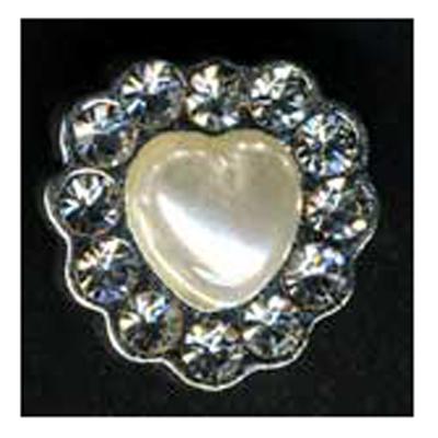 DIAMONTES BUTTON 12MM 10 / $ 12.99 ea.
