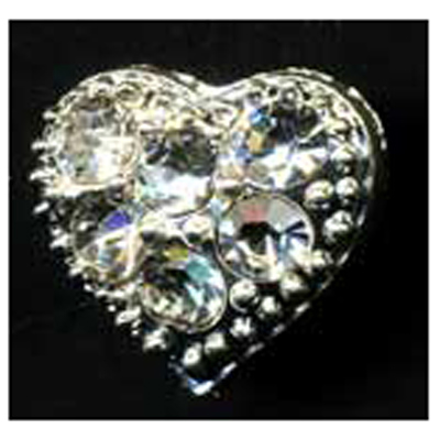 DIAMONTES BUTTON 15MM 10 / $ 18.99 ea.
