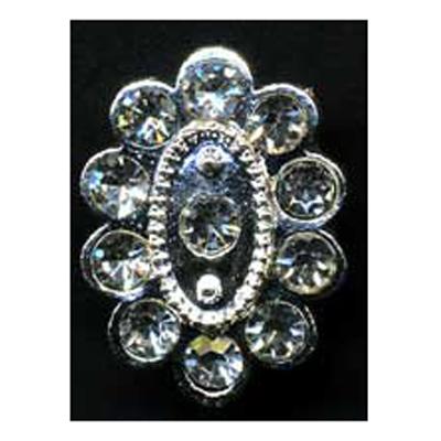 DIAMONTES BUTTON 19MM 10 / $ 18.99 ea.