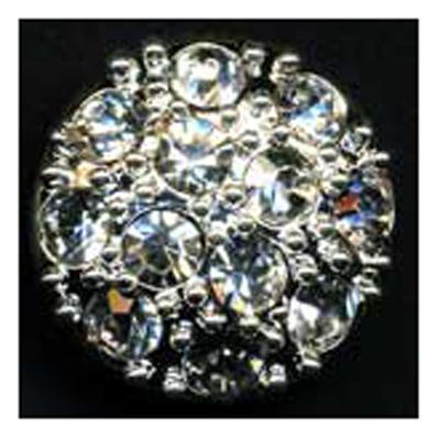 DIAMONTES BUTTON 16MM 10 / $ 18.99 ea.