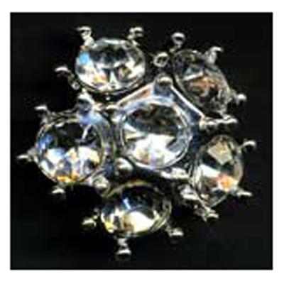 DIAMONTES BUTTON 22MM 10 / $ 18.99 ea.