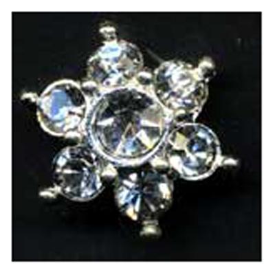 DIAMONTES BUTTON 10MM 10 / $ 18.99 ea.