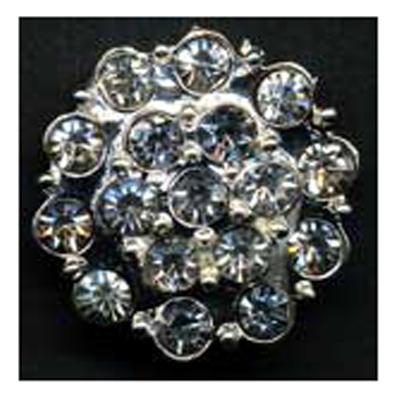 DIAMONTES BUTTON 21MM 10 / $ 18.99 ea.