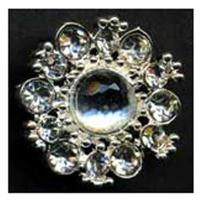 DIAMONTES BUTTON 20MM 10 / $ 18.99 ea.