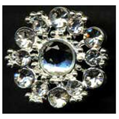 DIAMONTES BUTTON 25MM 10 / $ 24.49 ea.