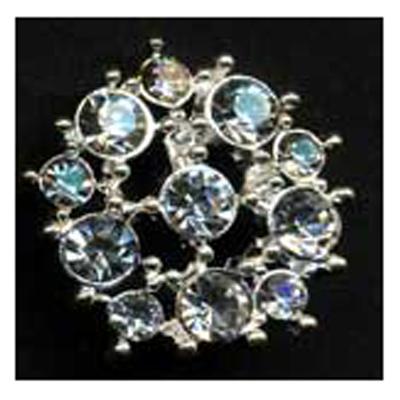 DIAMONTES BUTTON 21MM 10 / $ 24.49 ea.