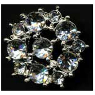 DIAMONTES BUTTON 27MM 10 / $ 24.49 ea.