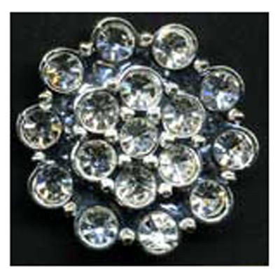 DIAMONTES BUTTON 30MM 10 / $ 29.49 ea.