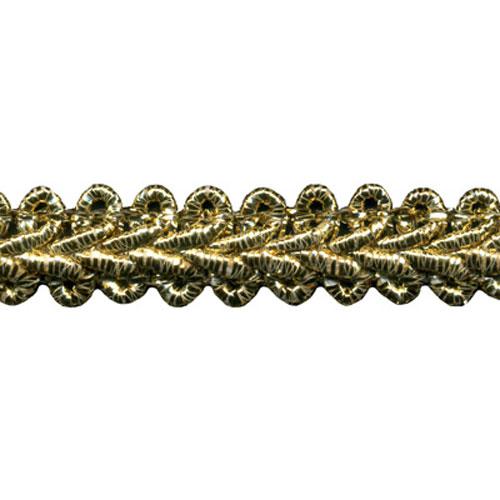 GIMP BRAID 1429-GOLD LUREX
