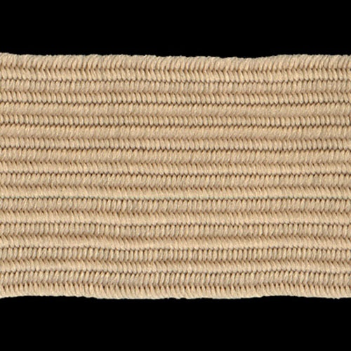 ELASTIC POLYESTER BEIGE 20MM