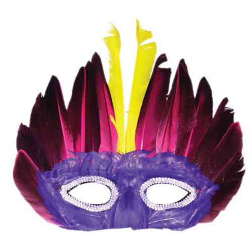 FEATHERED MASK DESIGN 2