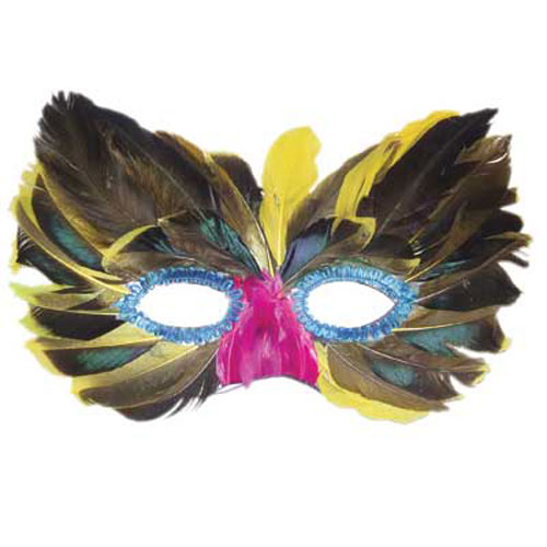 FEATHERED MASK DESIGN 4